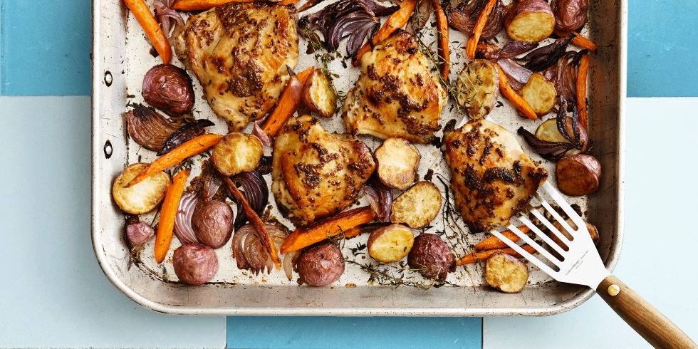 Grilled potato and carrots recipes
