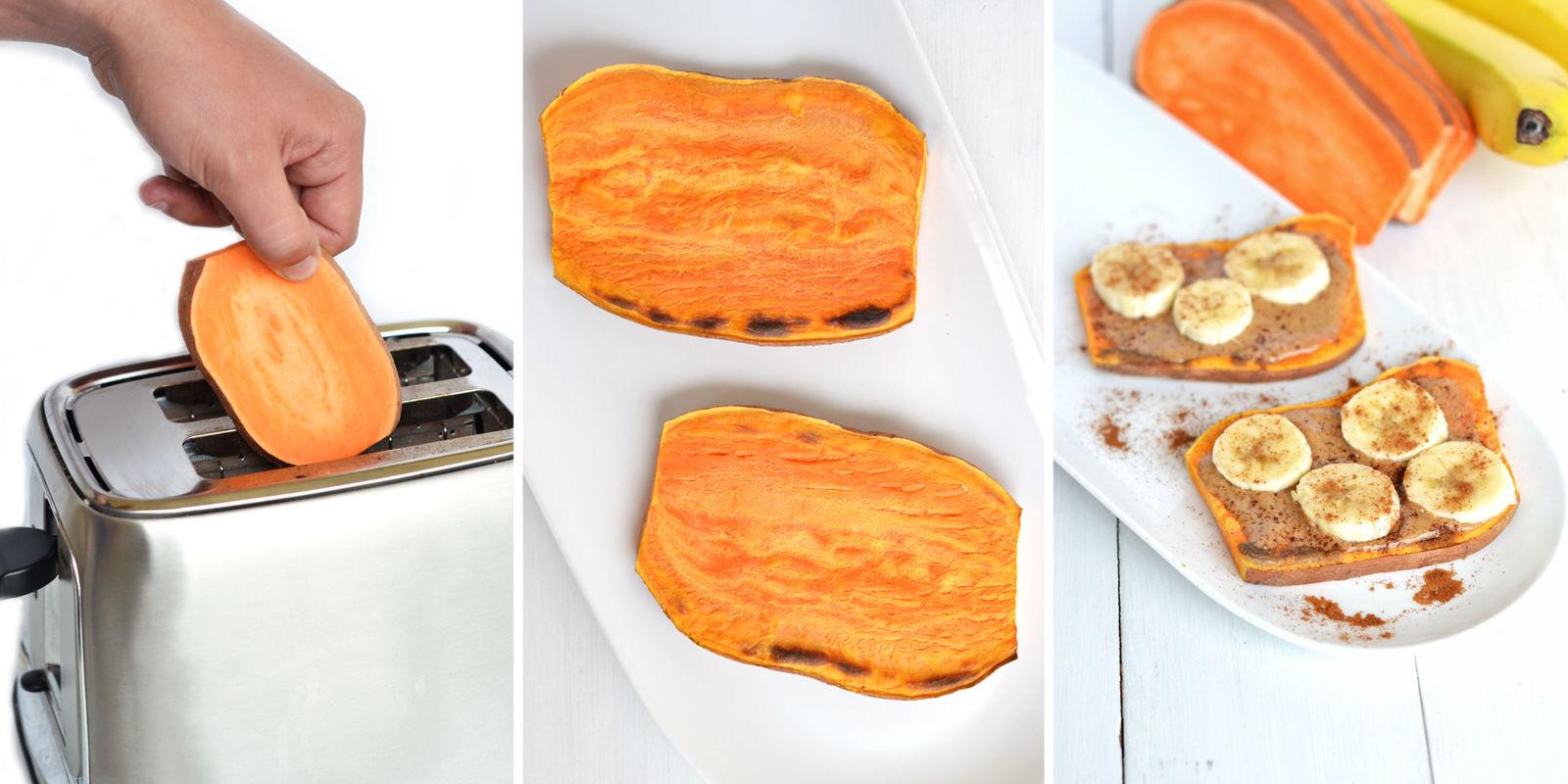 Sweet Potato Toast Sweet Potato Toast Trend