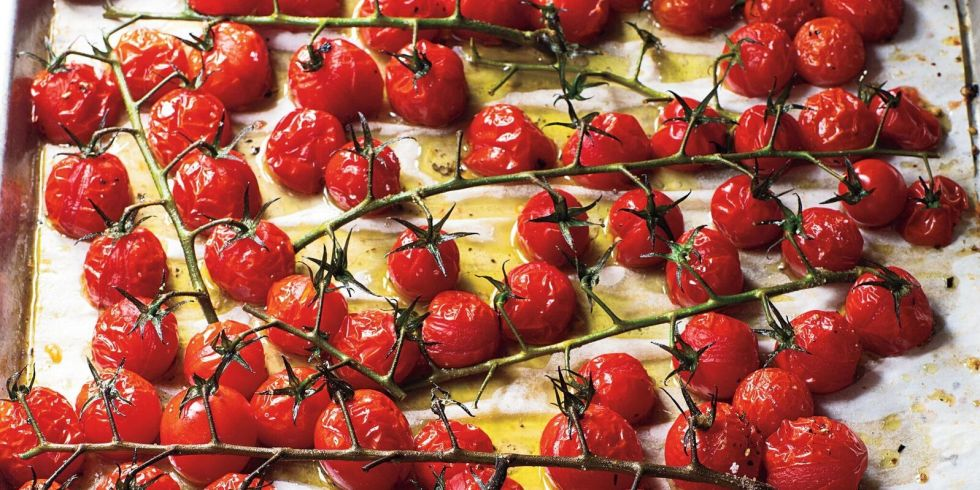 Roasted Tomatoes Ina Garten roasted vine tomatoes - the barefoot contessa recipe