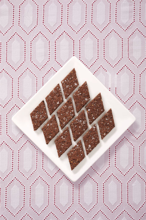 How many ounces are in a square of Baker's chocolate?